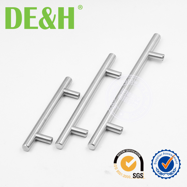 T bar stainless steel solid cabinet hardware handle